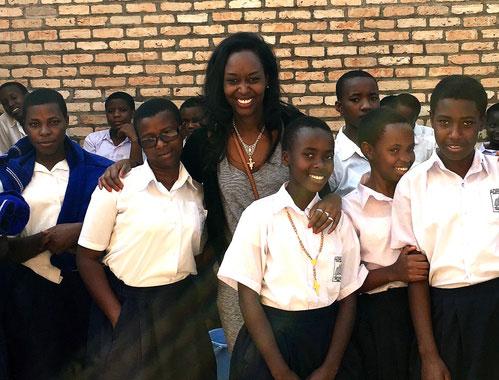 Immaculee-at-Kibeho-School,-Rwanda