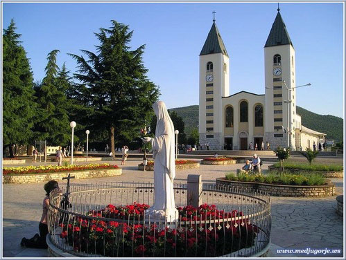 St James Church in Medjugorje
